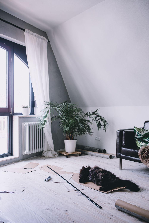 Wineo Bioboden verlegen, Malmö Pine, helle Holzbodenoptik, Vinyl ...