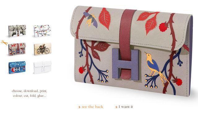 hermes printable paper bags diy by ...love Maegan, via Flickr