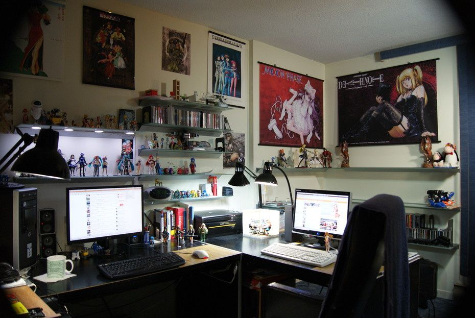 Office Workspace Cool Comic Manga Office Workspace Design Ideas With Comic Manga Pictures