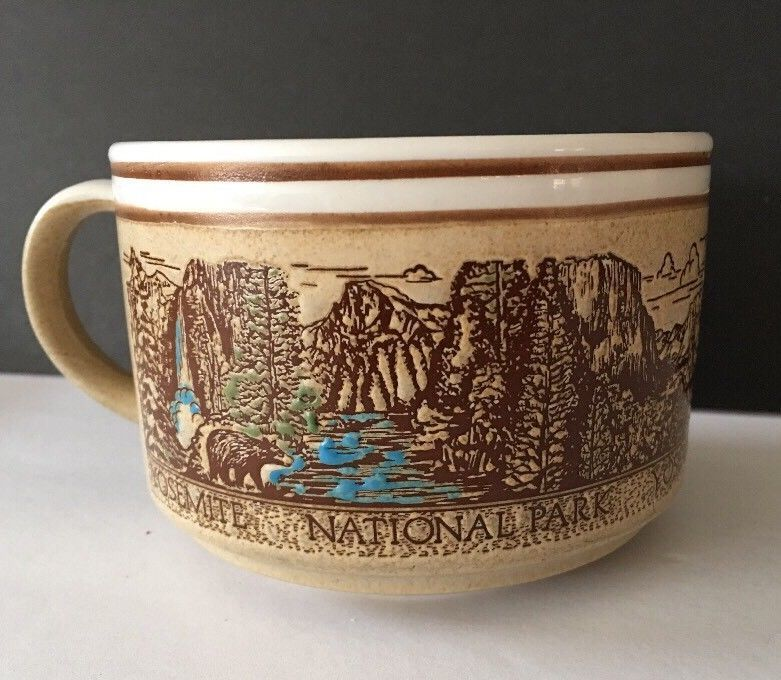 Yosemite National Park Coffee Mug Travel Souvenir Falls Half Dome El Capitan Mugs Coffee Mugs Travel Souvenirs