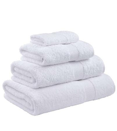 Catherine Lansfield Egyptian Cotton Bath Towel, White - Achica - £7