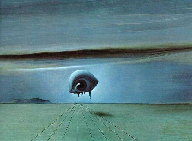 – Salvador Dalí – El ojo de 1945 - « El Espíritu del Camino