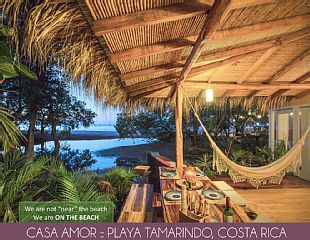 Beautiful Balinese House Right on the BeachVacation Rental in Tamarindo from @homeaway! #vacation #rental #travel #homeaway
