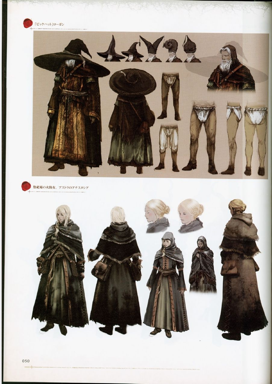 The Art Of Character Design Pdf : Dark souls design works showcases the grim and haunting