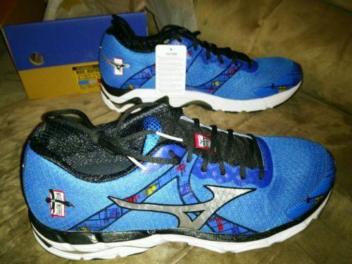 Mizuno Wave Inspire 10 Running Shoes Mens Navy Blue