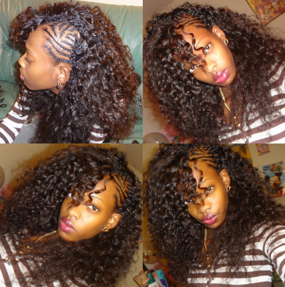 35++ Braids with curly weave ideas in 2021