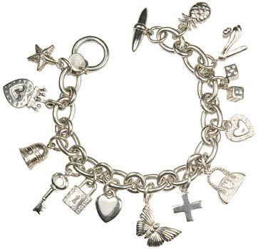 charm best bracelets bracelet silver gordonburke pinterest on vintage images jewels sterling