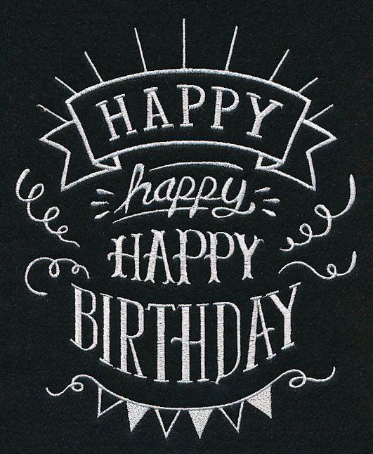 happy happy happy birthday design l2288 from www emblibrary com
