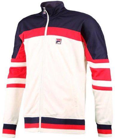 Fila Men's Retro Tennis Jacket | Fila retro, Vintage