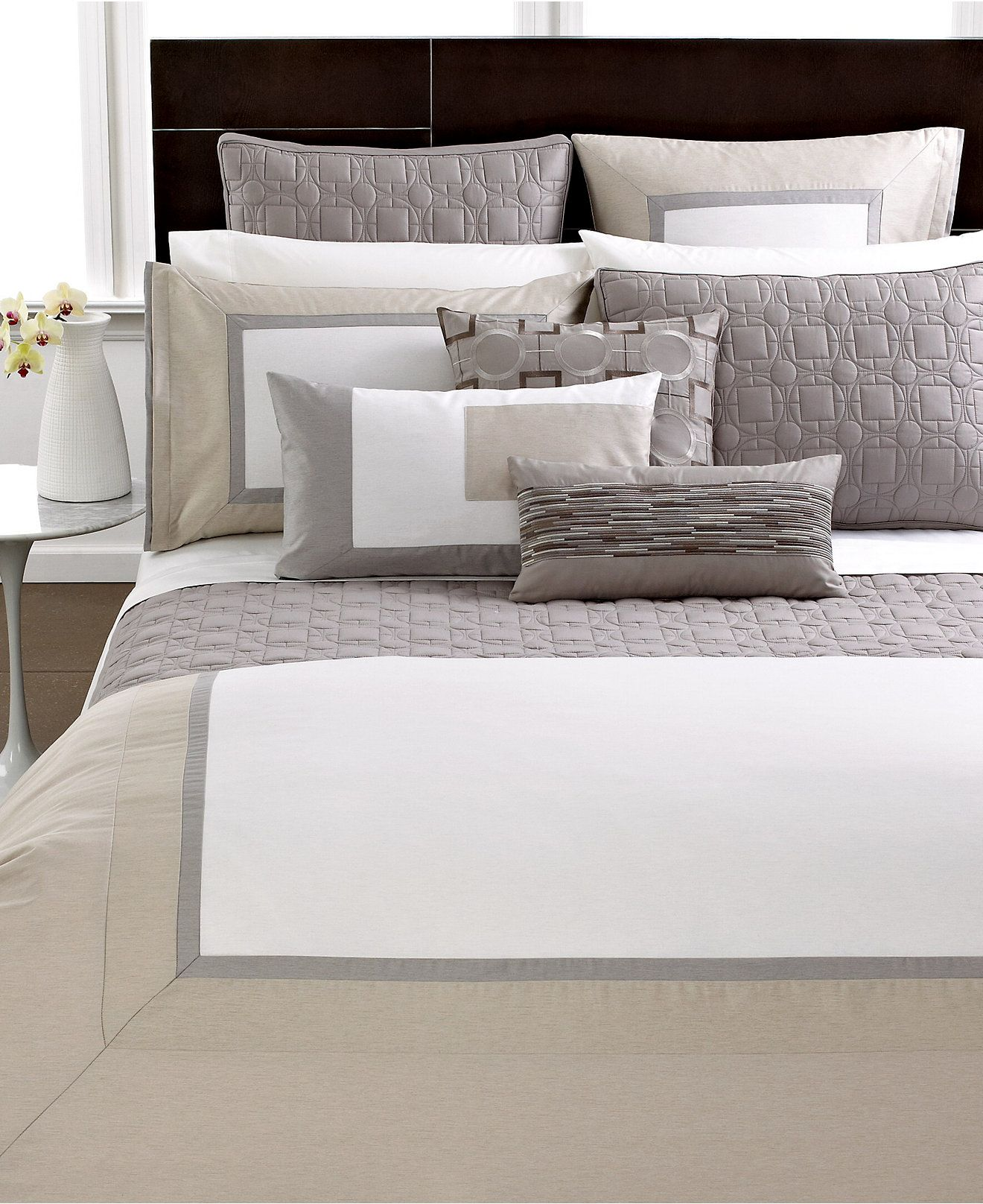 Hotel Collection Modern Block Bedding - Collections Bed & Bath Macy'