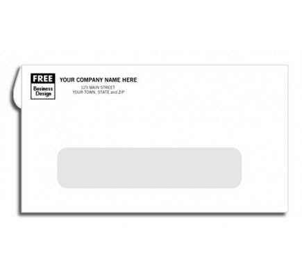 Creatively Styled Window Envelope Self Seal 6 3 4 Window Envelopes Free Shipping Window Envelopes Business Envelopes Free Company Logo