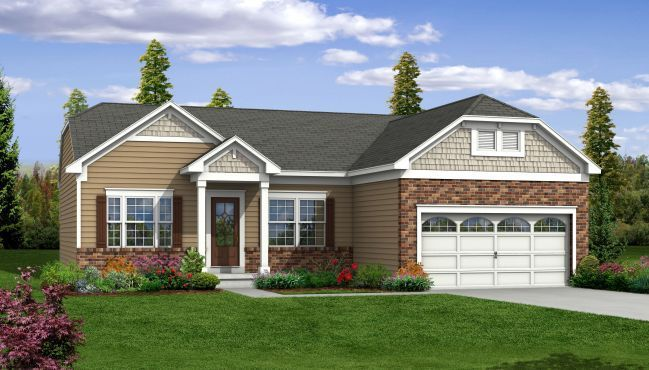 The Westport New Home Design In Darlington Creek By Maronda Homes Of