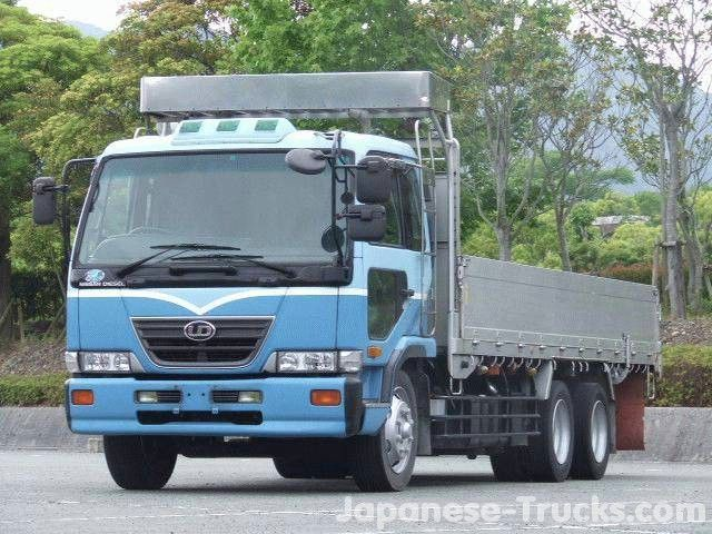 2001 UD (Nissan) of Japan Nissan diesel truck, Nissan