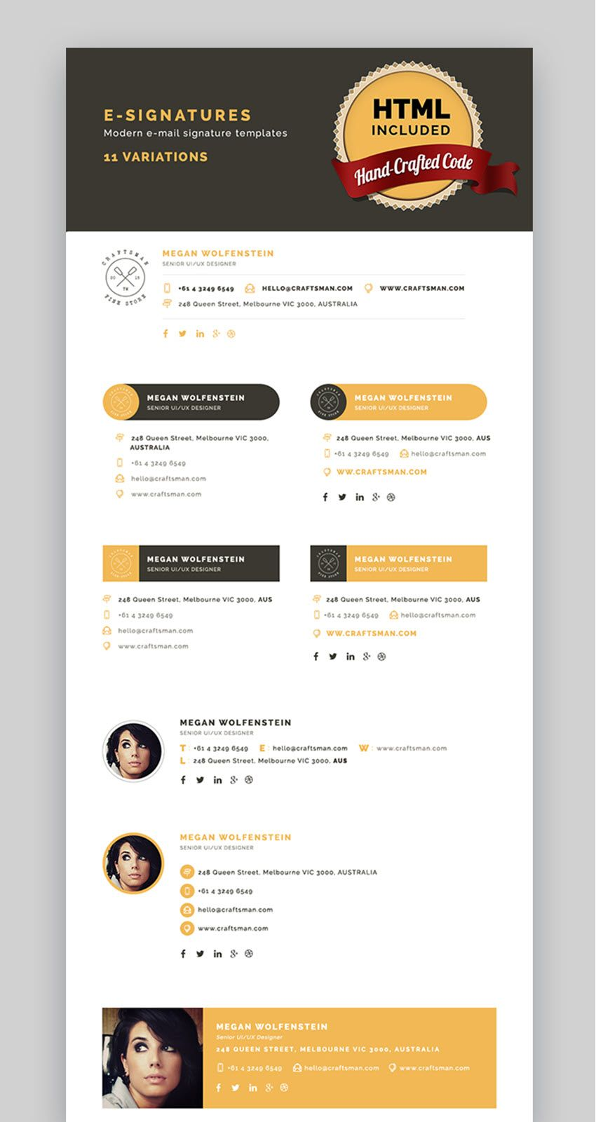 How To Add A Professional Outlook Email Signature Quickly Email Signature Design Outlook Email Signature Email Signatures