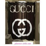 Gucci Shower Curtain Fancy Shower Curtains Black Curtains Curtains