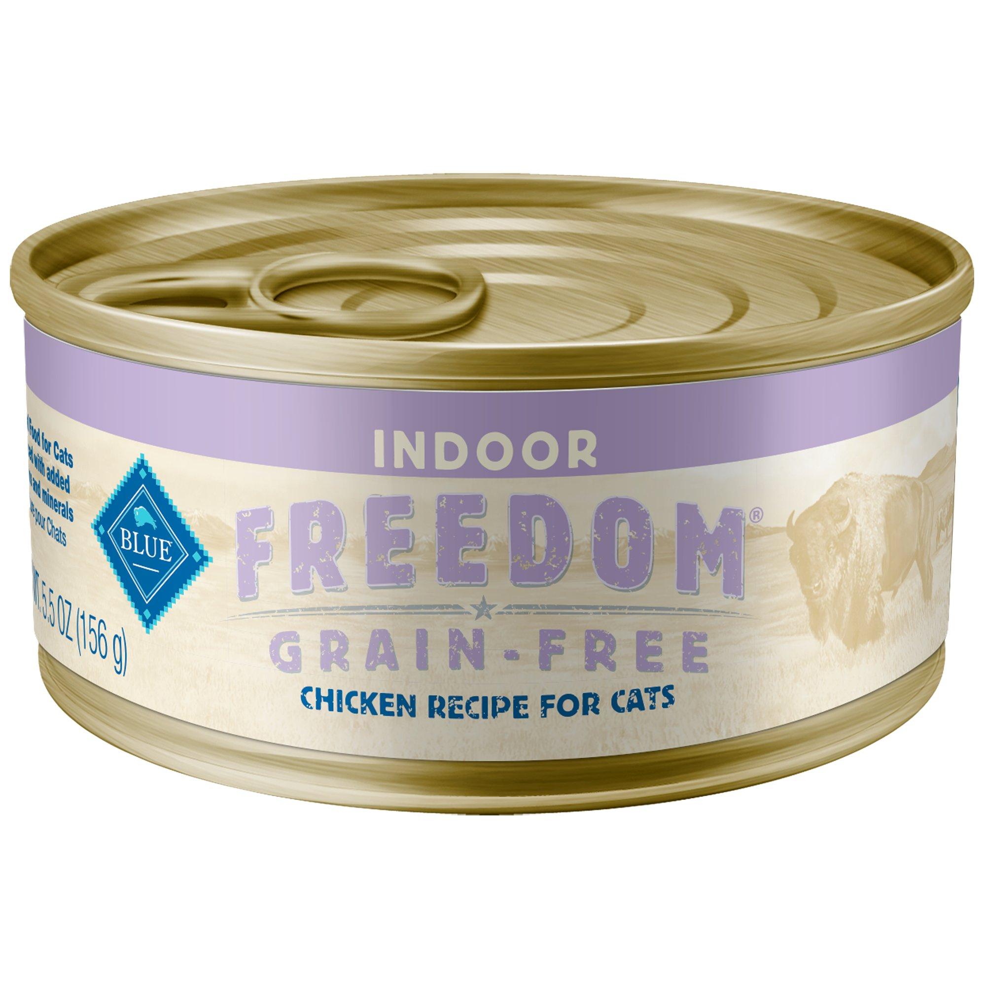 Blue buffalo blue freedom grain free indoor chicken recipe