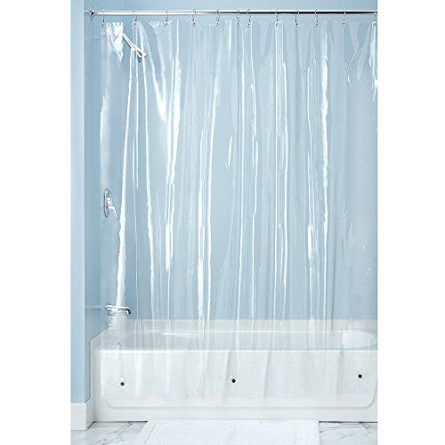 Interdesign X Long Shower Curtain Liner Clear Interdesign