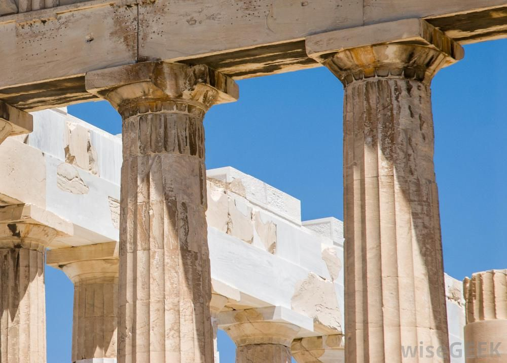 Types Of Roman Columns : Doric http wisegeek in architecture what are the