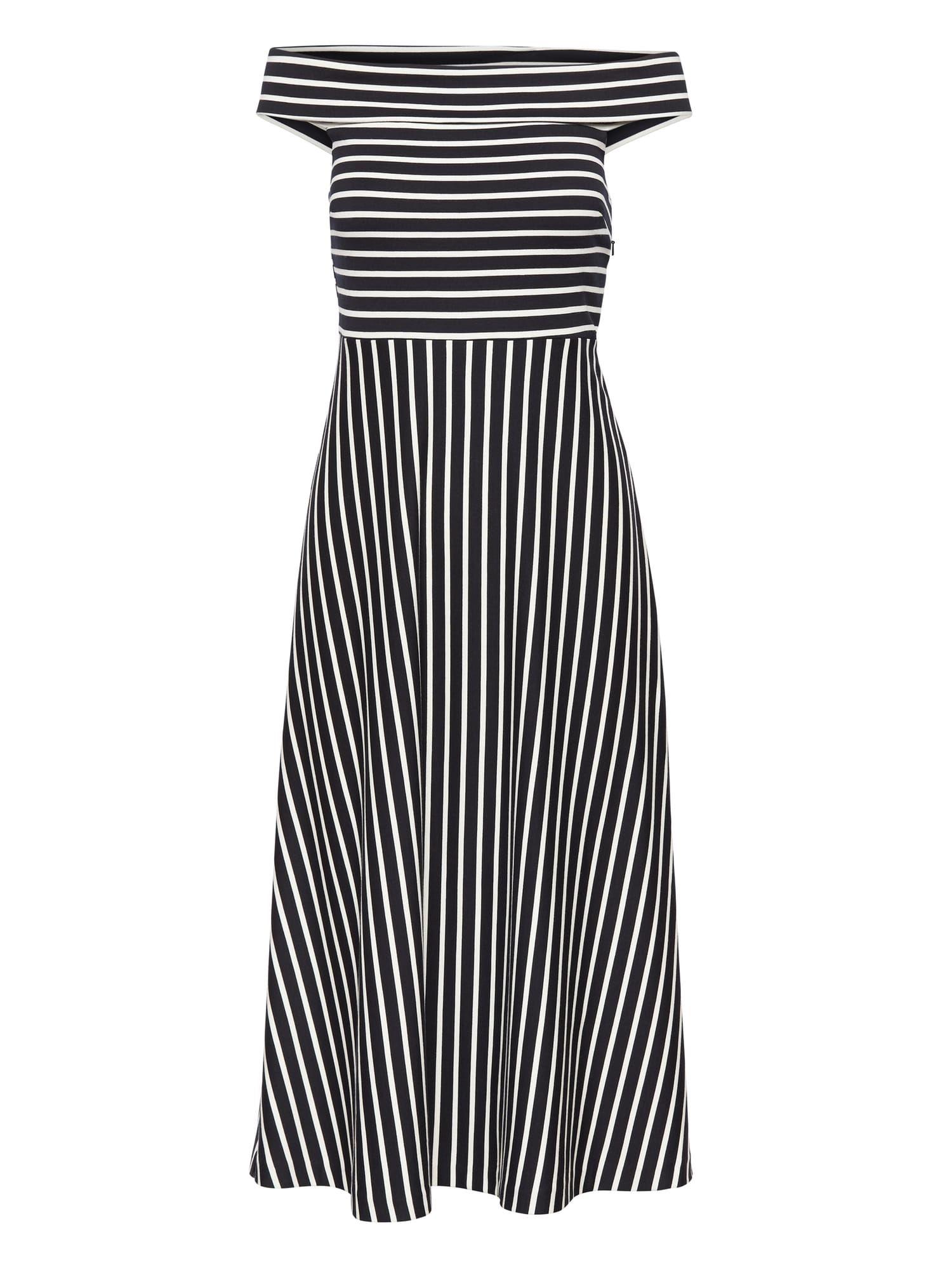 58c5b2d76994 Banana Republic Fall 2018 Stripe Ponte Off-the-Shoulder Dress ( 77 on sale)
