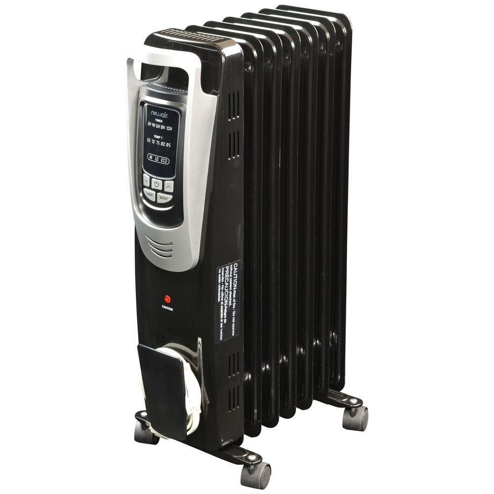 60591dda0d7 NewAir 1500-Watt Electric Oil-filled Radiant Portable Heater