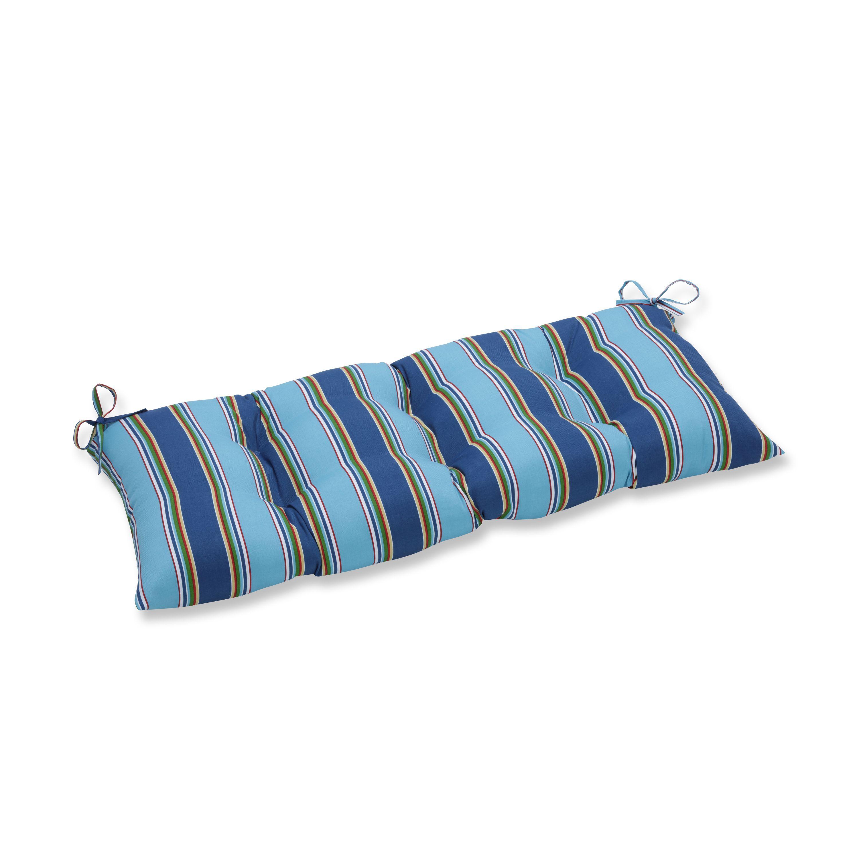 Pillow perfect outdoor indoor bonfire regata swingbench cushion