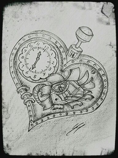 drawing steampunk brokenheart more