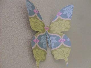 Butterfly Wall Decoration Habitaci 243 N De Mariposas