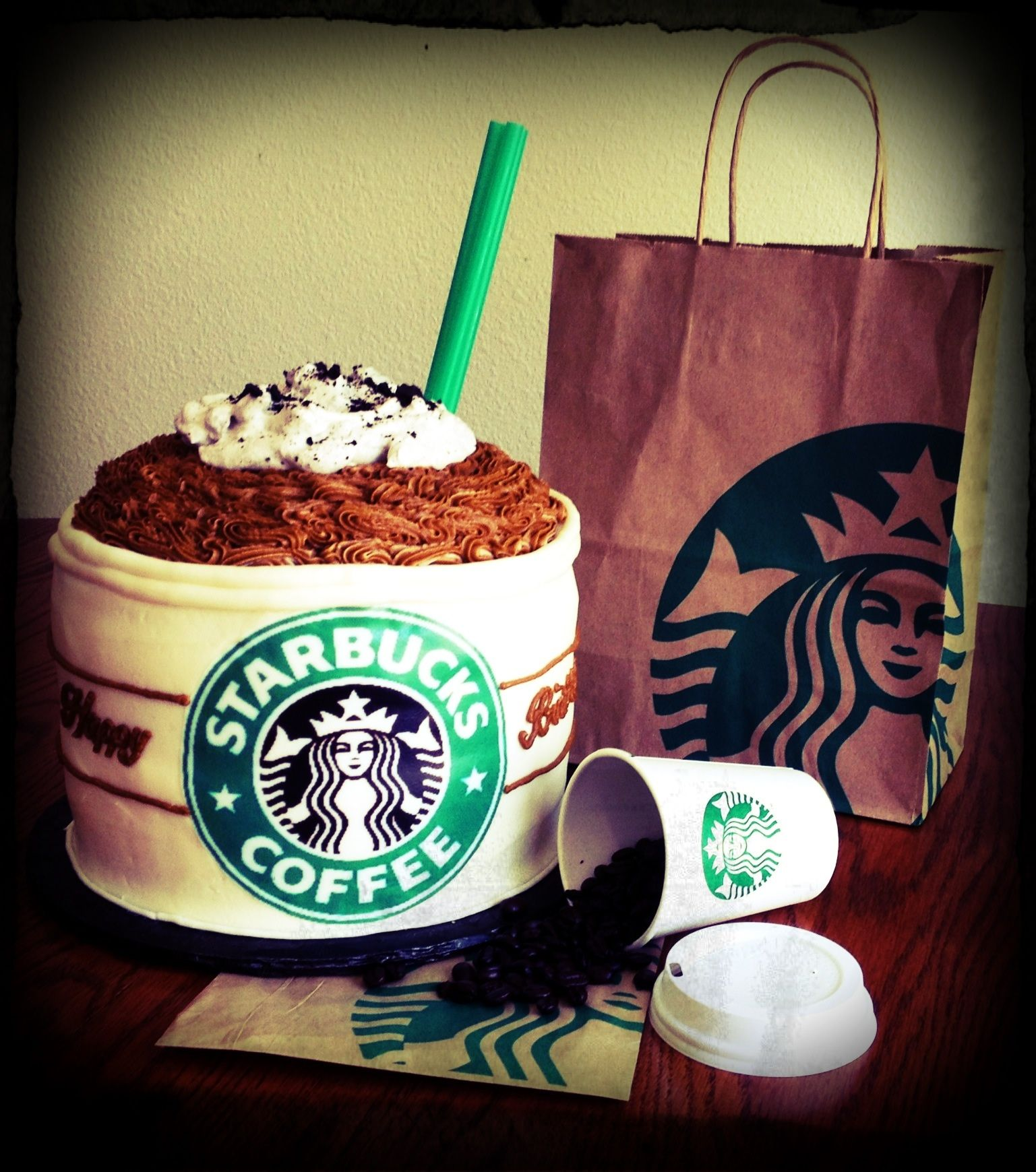 Starbucks cake starbucks cake yummy cakes cupcake cakes