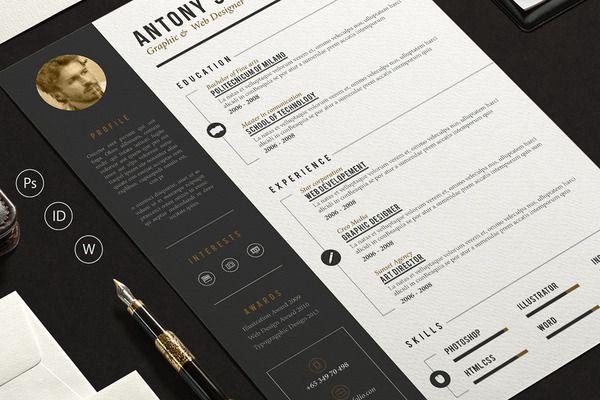 Pro Resume by sz81 on Creative Market