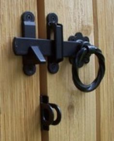 Barn Door Hardware Ring Latch Padlock Eyes