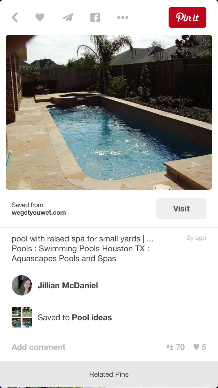 Pool And Hot Tub With Images Pool Spa Pool Swimming Pools