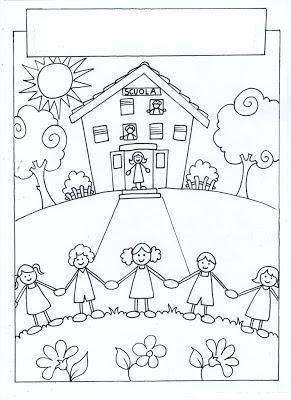 Ilköğretim Haftası Boyama Etiket Pinterest School Clipart