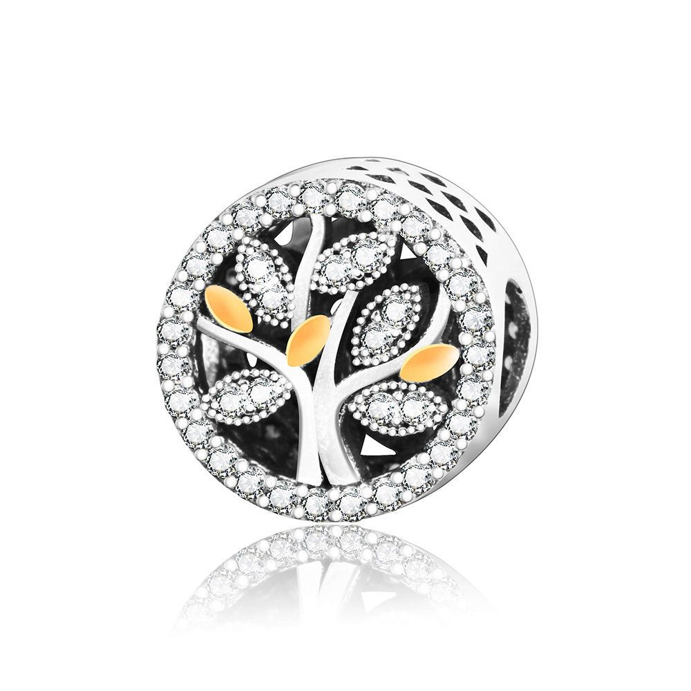 89e90a069 925 Sterling Silver Family Tree of Life Hollow Charm Bead Suits Pandora  Bracelet #BestOnlineShops #Charms #christmas #christmasgifts #sterlingsilver