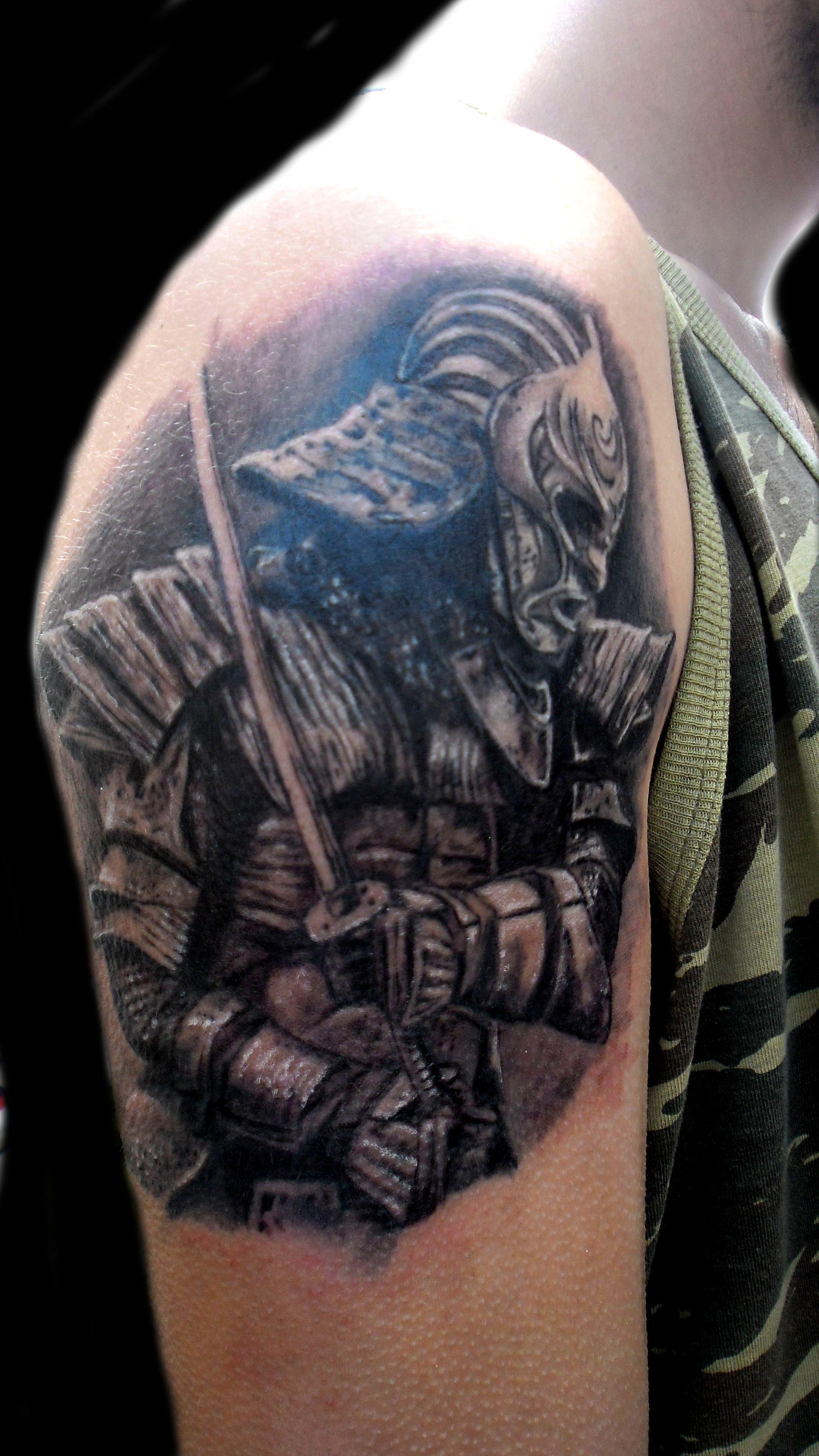 samurai ronin tattoo my tattoo work 2014 2015 pinterest samurai tattoo and skin art. Black Bedroom Furniture Sets. Home Design Ideas