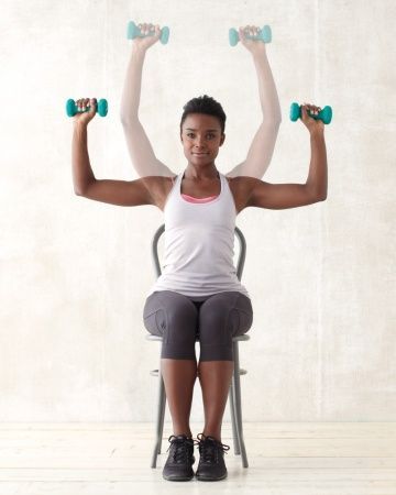 Overhead Dumbbell Press Overhead Dumbbell Press What It Does ...
