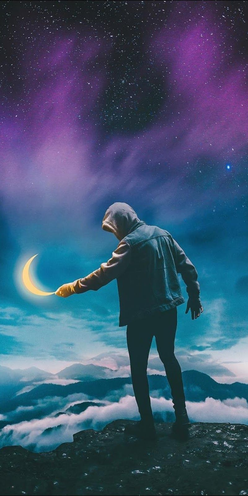 Stealing The Moon Wallpaper Pictures Live Wallpapers Art Wallpaper