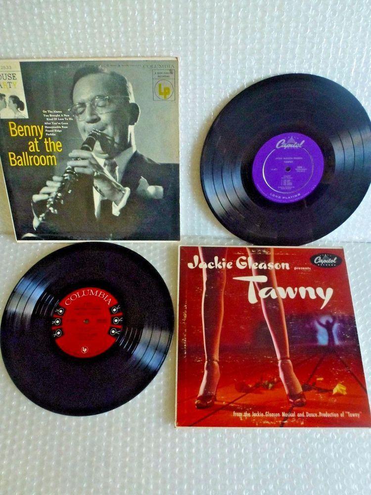 Benny Goodman Columbia Cl2533 Jackie Gleason Capitol H471 10 Lp Record Neocurio Vinyl Records Vintage 1950s Ebay Neocurio Jackie Gleason Gleason Records