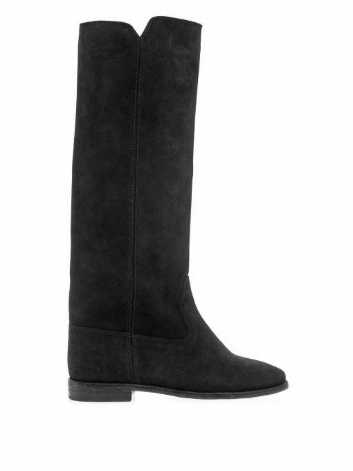 Isabel Marant Cleave suede wedge boots I want!
