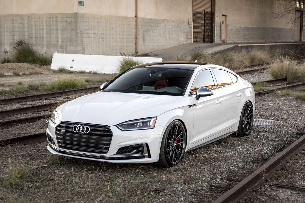 Audi B9 S5 Sportback 20 V Ff 107 Carbon Graphite Audi S5 Luxury Cars Audi White Audi