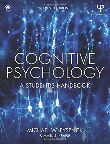Pin by psychology library on academic year 2015 16 pinterest cognitive psychology a students handbook amazon michael w eysenck mark t keane 9781848724167 books fandeluxe Choice Image