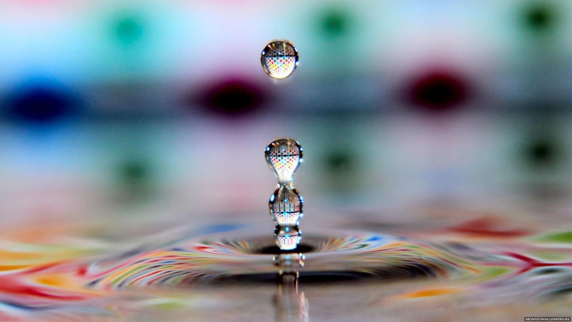 3d Water Drop Photography Wallpaper Hd Desktop Desktop Wallpaper