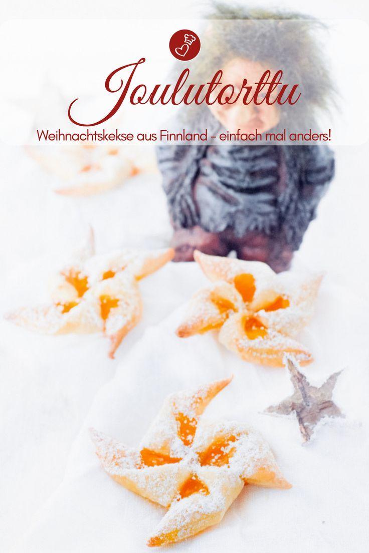 Joulutorttu – Rezept für finnische Kekse zu Weihnachten #plätzchenrezept