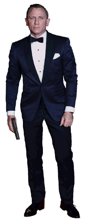 a85db88de7332 Amazon.com : DANIEL CRAIG JAMES BOND 007 LIFESIZE CARDBOARD STANDUP ...