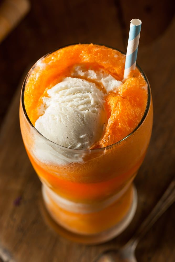 Boozy Creamsicle Float Kitchen Fun With My 3 Sons