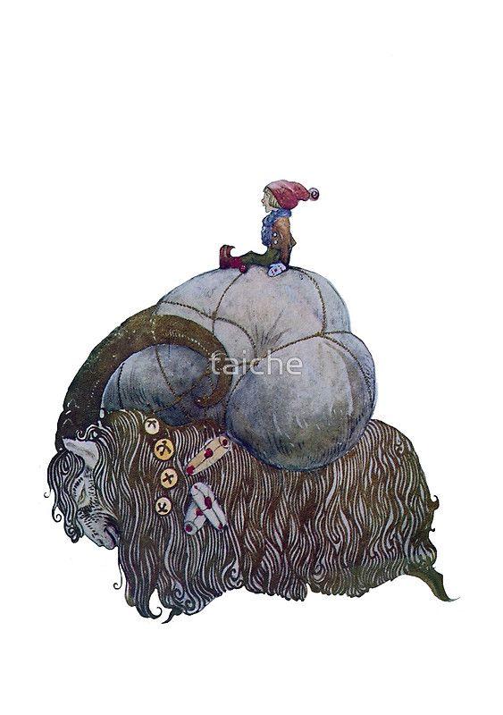 Jullbocken Yule Goat Scandinavian Christmas Tradition