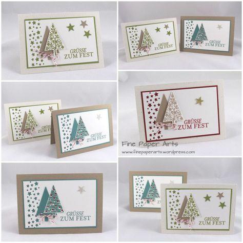 stampin up weihnachts workshop in altlu heim cards. Black Bedroom Furniture Sets. Home Design Ideas