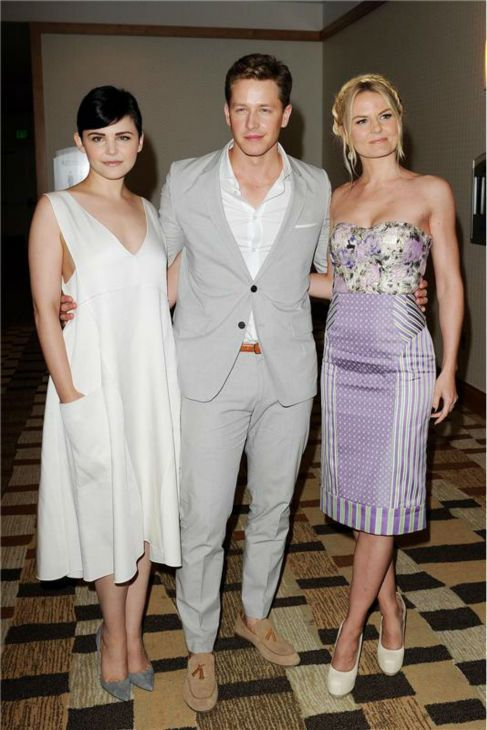 Josh Dallas And Ginnifer Goodwin Wedding Once Upon A Time Stars Boyfriend