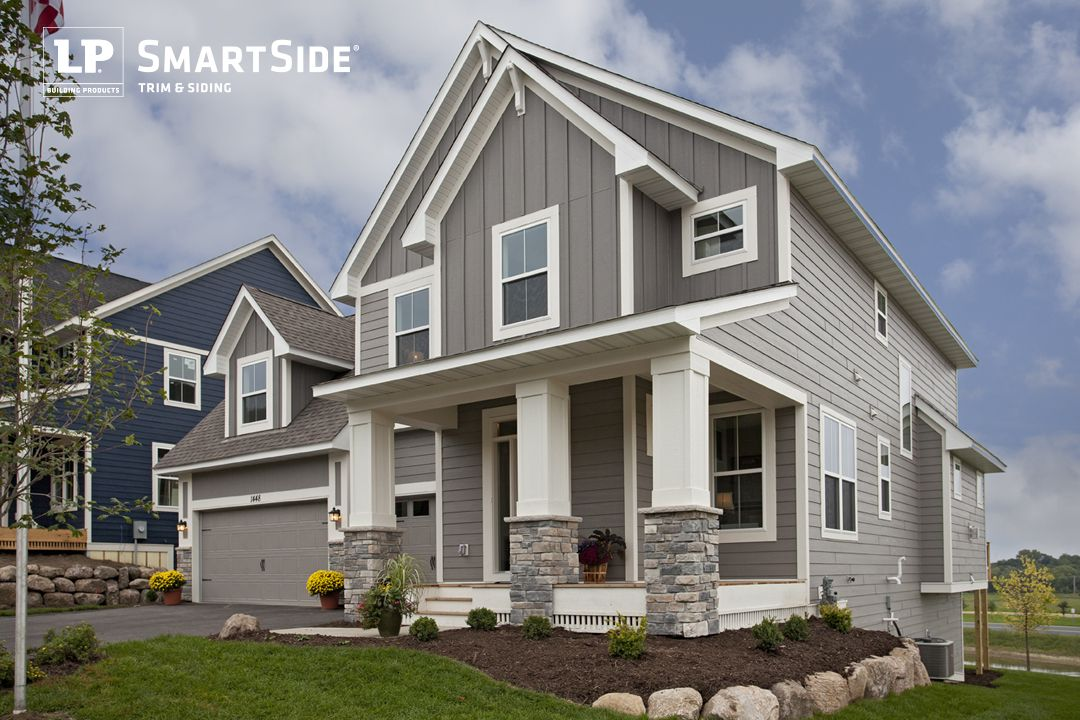 Sleek Yet Cozy Home Featuring Lp Smartside Lap Siding