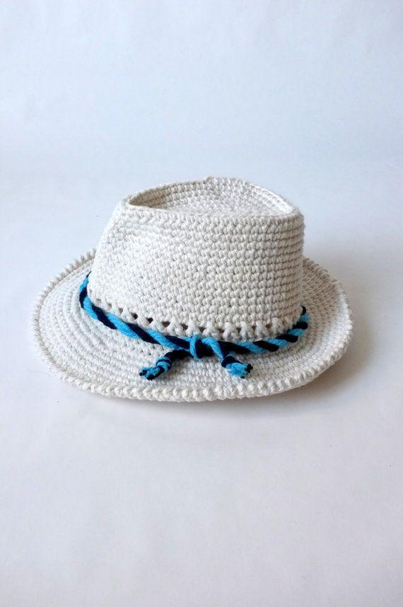 539f604fdef Crochet Baby Fedora Hat and Bow Tie Set Toddler by milazshop