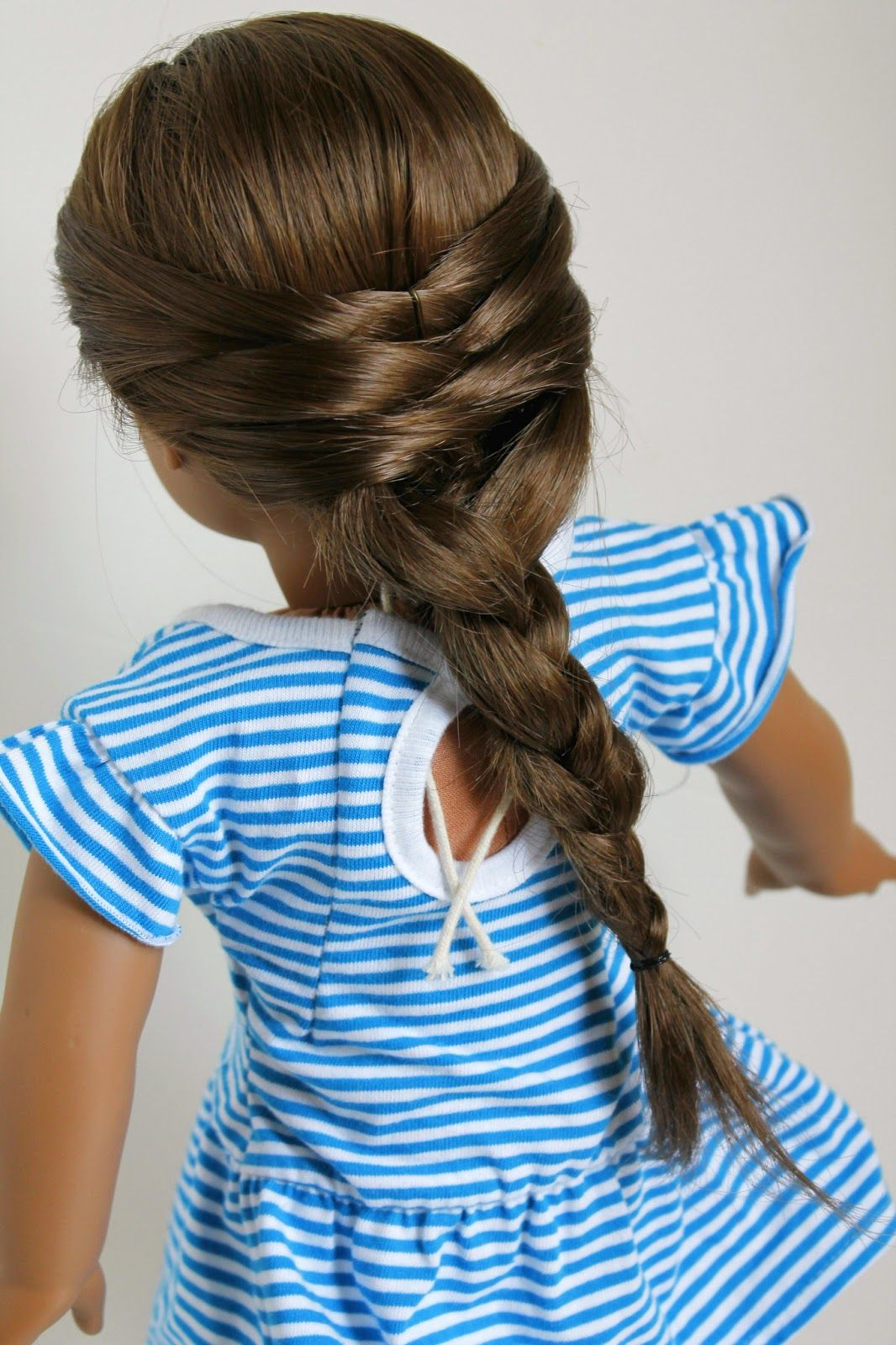 hair style for me doll delight by the spicys a whimsical braid 4468 | 4468fab09e1014fd2adf6e9f8516b85f